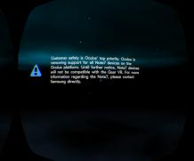 Oculus ferma il supporto per Note 7 su Gear VR