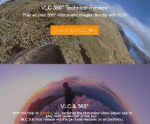 VLC ha aggiunto il supporto per i video 360