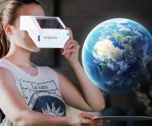Realtà aumentata con un cardboard a basso costo grazie ad Aryzon