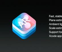 Apple presenta l'ARKit durate il WWDC