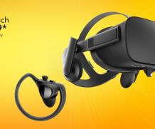 Oculus Rift più touch controllers a 449€ per 6 settimane