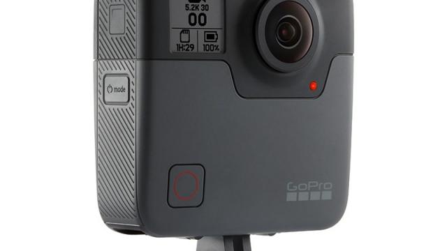 GoPro Fusion la Action Cam 360 di GoPro